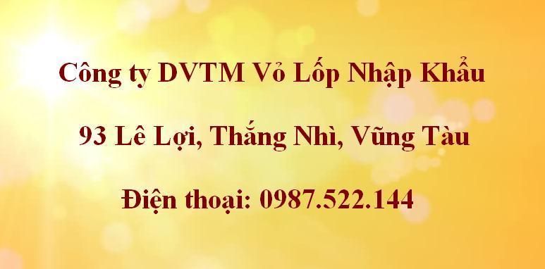 Số điện thoại vá vỏ xe lưu động Vũng Tàu