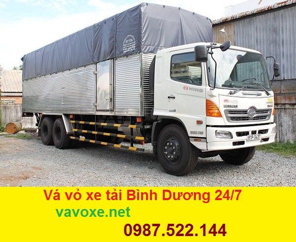 Vá vỏ lốp xe tải ở Thuận An